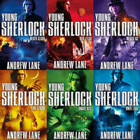 Young Sherlock Holmes Series Action Collection 6 Books Andrew Lane NEW