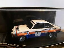 1/43 FORD ESCORT MK2 1978 NEW ZEALAND RALLY RUSSELL BROOKES TROFEU 150 LIMITED E