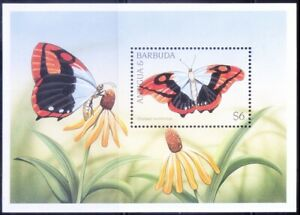 Antigua & Barbuda 1997 MNH MS, Blue Patch Charaxes, Butterflies, Insects