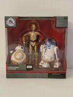 STAR WARS Elite Series Droid Gift Pack R2-D2, C-3PO, BB-8 Disney MINT IN BOX!!