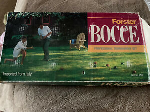 Forster Bocce Ball Set Made in USA 6100 Professional Tournament Free Ship USA