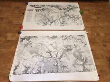 Richmond VA 1865 City Blueprints maps civil war centennial 1965 36x48 surveys
