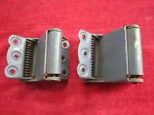 SET OF 2 VINTAGE BOMMER DOUBLE ACTION SCREEN DOOR SPRING HINGES
