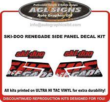 2011 Ski-doo Renegade Adrenaline  800 Reproduction Side Panel Kit 1200 600 800r