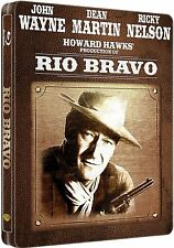 RIO BRAVO (John Wayne, Dean Martin, Ricky Nelson) Blu-ray Disc, Steelbook NEU