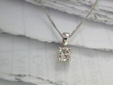 Diamond Solitaire Pendant, Diamond Pendant, Single Diamond Pendant 0.22ct