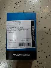 Acuity Controls Npodm 4p Dx Wh New!