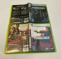 2 John Woo Presents Stranglehold Lot Bundle Xbox 360  Collectors Edition Mature