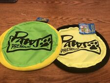 New listing 2 Paws Pet Flippy Flopper Dog Frisbee Interactive Dog Toys Flying Disc Dog Toys