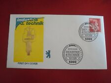 GERMANY - 1978 INDUSTRY & TECHNOLOGY - FIRST DAY COVER - EXCELLENT CONDITION