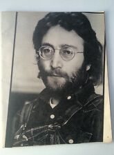 JOHN LENNON in denim RS magazine PHOTO / Poster/Clipping 12x10 inches