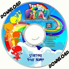 YOU ARE MY FRIEND  Personalised Music Album DOWNLOAD