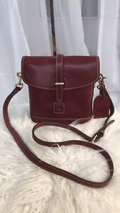 Dooney & Bourke Florentine Leather Holly Crossbody Bag - Bordeaux