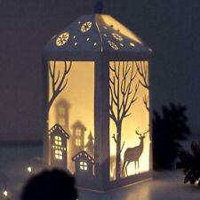 Stanzschablone Lampion Laternen Elk Weihnachten Hochzeit Oster Geburstag