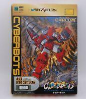 SEGA SATURN CYBERBOTS The Limited Edition Japan import SS CAPCOM