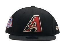 Arizona Diamondbacks Black OG Jordan New Era 9FIFTY MLB Adjustable Snapback Hat