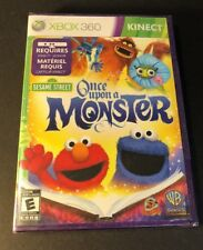 Sesame Street  [ Once Upon a Monster / Kinect Game ] (XBOX 360) NEW
