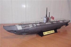 1:100 Scale Germany U-141 U-boot type IID DIY Handcraft PAPER MODEL KIT