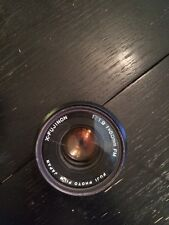 Fuji Vintage X-Fujinon 1:1.9 f=50mm FM Lens for Film Camera w/ Hoya UV Filter