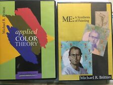 Two Art Instruction CD-ROMs by Michael R. Britton
