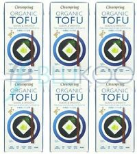 Clearspring Organic ambiante Tofu - 300 g (Pack de 6)