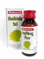 Baidyanath Shadbindu Tail (Oil) 50ml Herbal medication for Sinusitis, Headache
