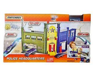 Matchbox Mattel Police Headquarters Playset 2010 (Rare Hard To Find) NEW