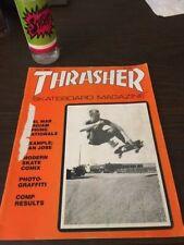 """Thrasher Skateboard Magazine May 1983 Garry """"Skate"""" Davis Steve Caballero 5/83"""