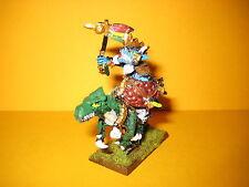 Echsenmenschen - Lizardmen - Saurus Hornnackenveteran auf Kampfechse