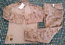 USMC Desert Frog Shirt & Trousers, AUTHENTIC, LARGE - LONG (L-L) NWT