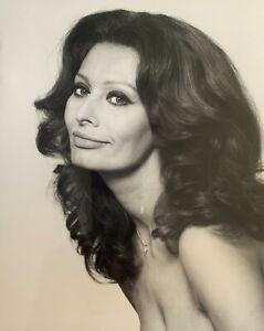 Sophia Loren Sexy Lips Photo From Original Negative Photograph on Fujifilm Paper