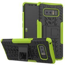 Etui Hybride 2 pièces Extérieur Vert Housse Étui pour Samsung Galaxy Note 8