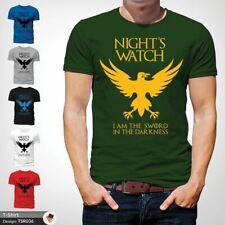 Night's Watch Game Of Thrones TShirt Jon John Snow Sword in the darkness Green