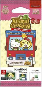 Animal Crossing New Leaf + Sanrio amiibo Cards Pack Brand New Sealed