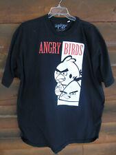 Black Angry Birds Men's T Shirt Size 3XLT
