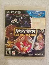 Angry Birds Star Wars Playstation 3 PS3 Game Disc & Case! NO MANUAL FREE S/H