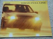 1995 Volvo 960, 850, 940 Sales Brochure