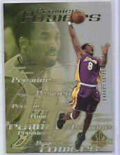 "2000-01 SP Authentic NBA Basketball ""Premier Powers"" #P3, Kobe Bryant, LA Lakers"