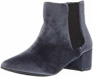 Fergie Women's Sandy Ankle Bootie, Blue, Size 6.5 JMCq
