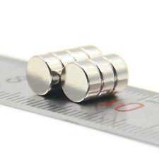 10pcs molto forte 6mm x 3mm Rare Earth RINATO NdFeB NEODIMIO DISCO Magnete N52