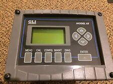 GLI INTERNATIONAL MODEL 63 PH ANALYZER P63B1N1A1B1NFN