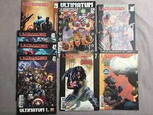 Lot 8 comics VF Ultimates, Ultimates hors-série et Ultimate X-Men