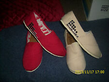 "NEW  IN BOXES YOKI "" STYLE COLLEGE ""  SET OF 2 PAIRS CANVAS FLATS shoes"