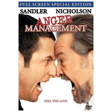 Anger Management (DVD, 2003, Full Frame Special Edition)