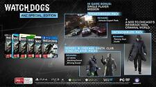 Watch Dogs ANZ Special Edition Xbox 360 AUS EDITION *BRAND NEW* + Warranty!!
