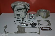HUSQVARNA 350, 353, 345 CYLINDER AND PISTON KIT BIG BORE, 45MM, CLOSE PORTS, NEW