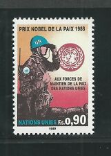 UNITED NATIONS, GENEVA # 175 MNH PEACE KEEPING NOBEL PRIZE