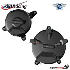 Complete engine crankcase cover protection set GBRacing for KTM RC8R 2008>2010