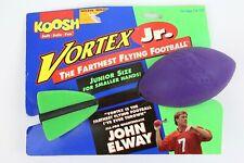 Vintage 1994 Nerf Koosh Vortex Jr. Football John Elway packaging Nos Toys R Us