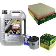 Inspection Kit Filter Liqui Moly Oil 5L 5W-30 for Ford Fiesta IV Ja _ Jb _1.25i